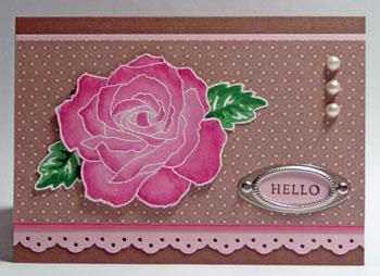 Watercolour-Rose
