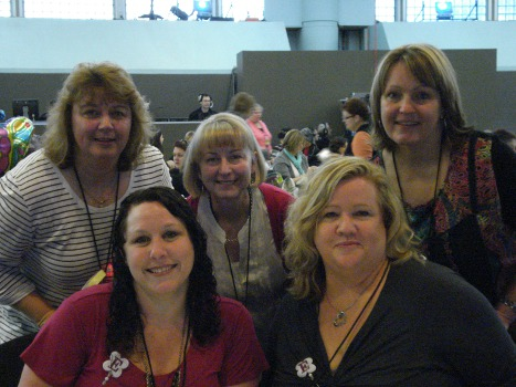 Convention - Me, Miriam, Judy, Claire, Nikki