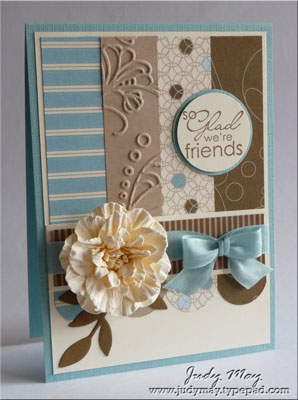 Just Judy Designs June Blog Hop Designer Series Paper