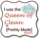 Queen of Clean Badge