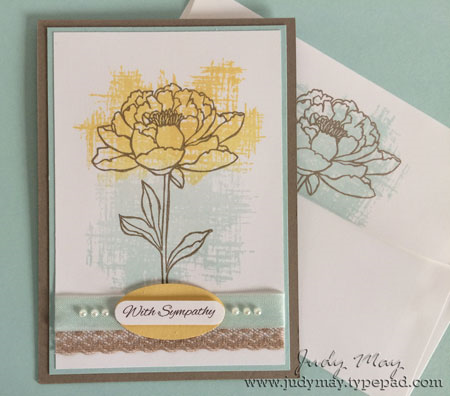 You've Got This in So Saffron and Soft Sky on Tip Top Taupe base card and matching envelope.