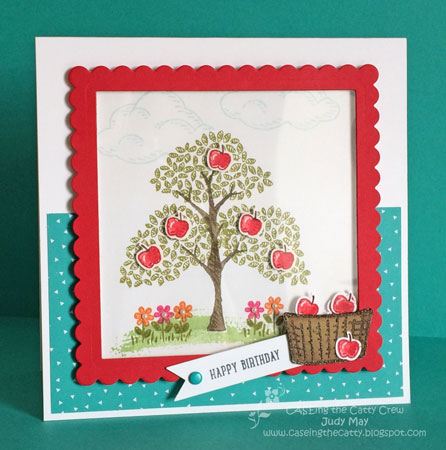 Stampin' Up! 'Sprinkles of Life' - Judy May, Just Judy Designs.