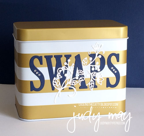 Stampin' Up! Sale-a-bration Tin for CASE-ing the Catty - Judy May, Just Judy Designs