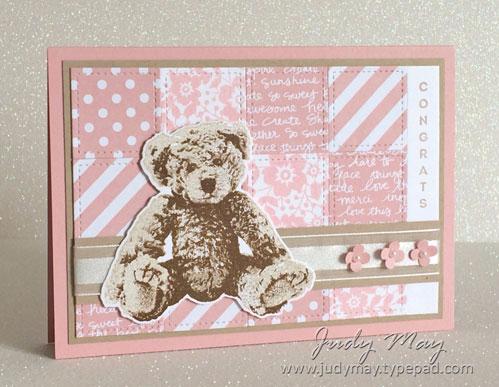 Stampin' Up! Baby Bear - Judy May, Just Judy Designs