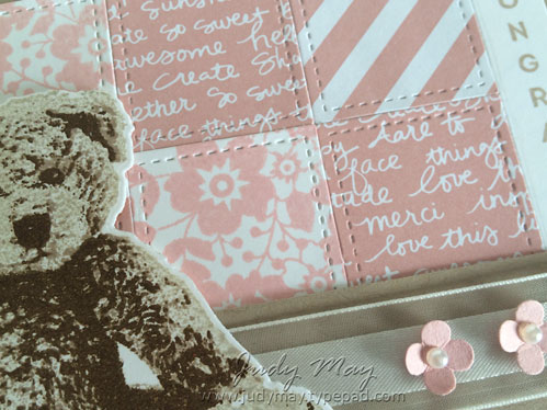 Stampin' Up! Baby Bear - Judy May, Just Judy Designs
