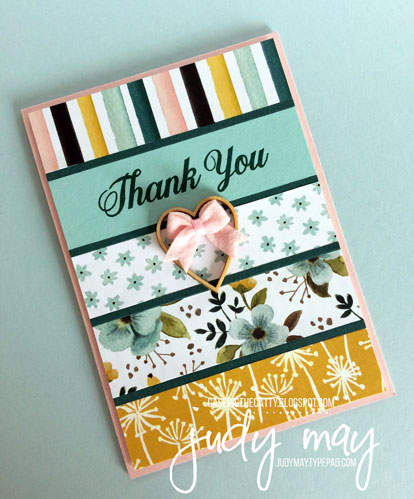 Stampin' Up! Whole Lot of Lovely for CASE-ing the Catty - Judy May, Just Judy Designs