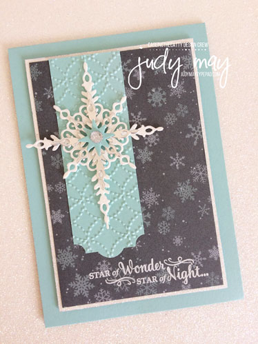 Stampin' Up! Star of Light & Christmas Around the World DSP - Judy May, Just Judy Designs