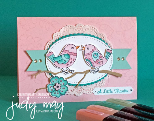 Stampin' Up! Feathery Friends Host Set - Judy May, Just Judy Designs