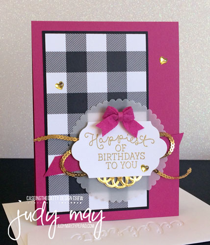 Stampin' Up! Birthday Blooms & Merry Little Christmas DSP - Judy May, Just Judy Designs