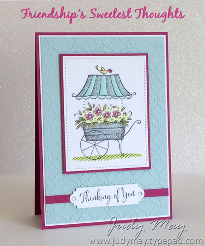 Stampin' Up! Friendship's Sweetest Thoughts - Judy May, Just Judy Designs