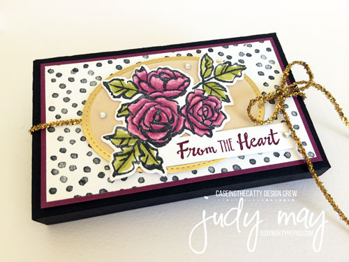 Stampin' Up! Petal Palette, Narrow Note Cards & Lots to Love Box - Judy May, Just Judy Designs