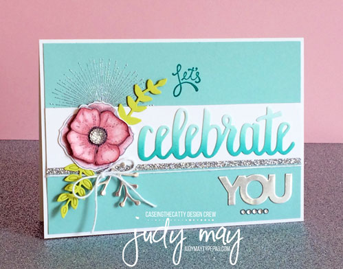 Stampin' Up! Amazing You and Celebrate You Thinlits - Judy May, Just Judy Designs