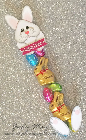 Stampin' Up! Easter Bunny Tube - Judy May, Just Judy Designs