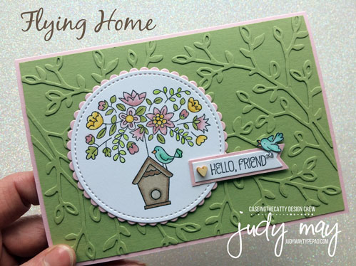 Stampin' Up! Flying Home - Judy May, Just Judy Designs