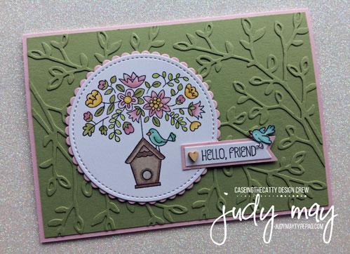 Stampin' Up! Flying Home - Judy May, Just Judy Designs