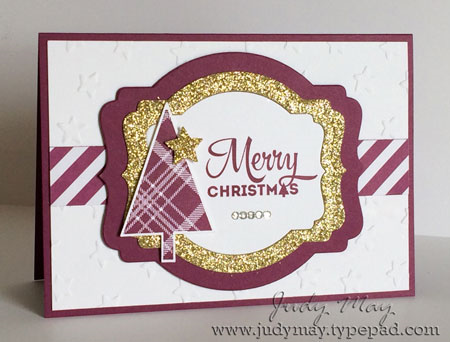 Stamping Up 'Lots of Joy'. Judy May, Just Judy Designs