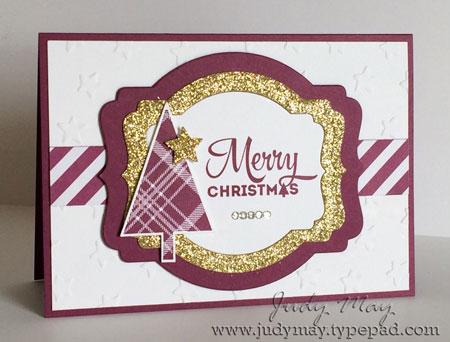 Stamping Up 'Lots of Joy'. Judy May, Just Judy Designs