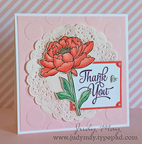 Stampin Up You've Got This and One Big Meaning - Judy May, Just Judy Designs