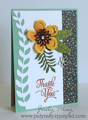 Stampin' Up! Botanical Gardens Suite - Judy May, Just Judy Designs