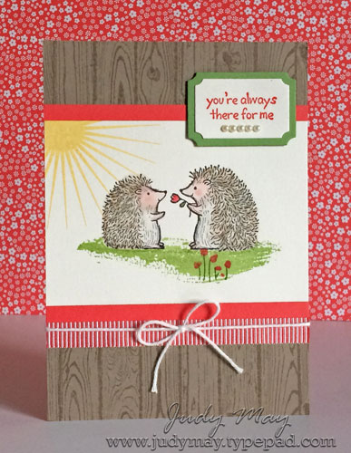 Stampin' Up! 'Love You Lots' - Judy May, Just Judy Designs