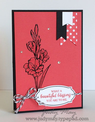 Stampin' Up! Gift of Love Embossed - Judy May, Just Judy Designs