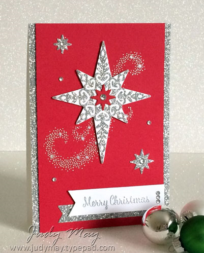 Stampin' Up! Star of Light - Judy May, Just Judy Designs