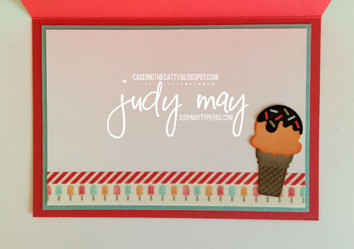 Stampin' Up! Cool Treats & Tasty  Treats DSP