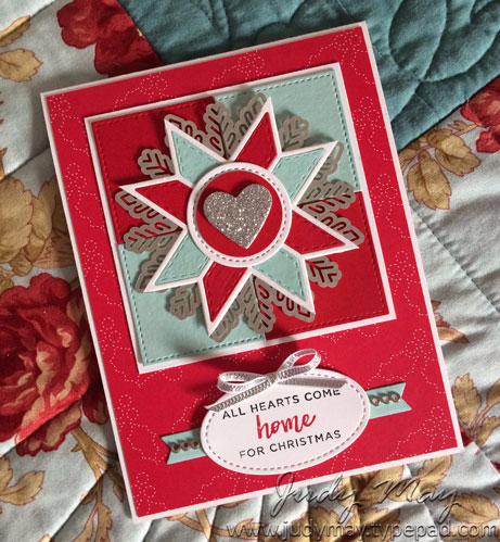 Stampin' Up! Quilted Christmas Bundle - Judy May, Just Judy Designs