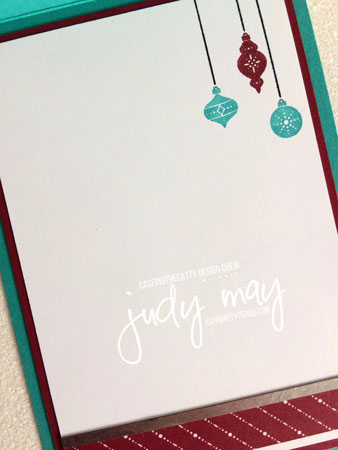 Stampin' Up! 'Merry Little Christmas' Memories & More - Judy May, Just Judy Designs