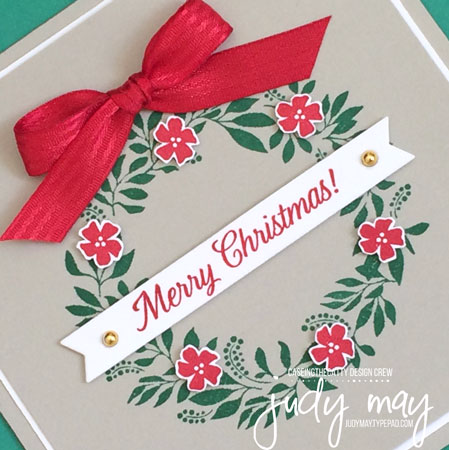 Stampin' Up! Hello Friend for Christmas - Judy May, Just Judy Designs