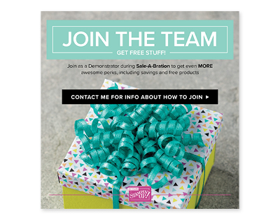 Join Stampin Up to Save or Earn