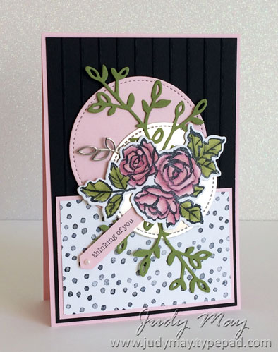 Stampin' Up! Petal Passion Suite - Judy May, Just Judy Designs