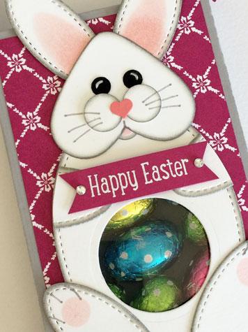 Stampin' Up! Lots to Love Bunny Treat Box - Judy May, Just Judy Designs