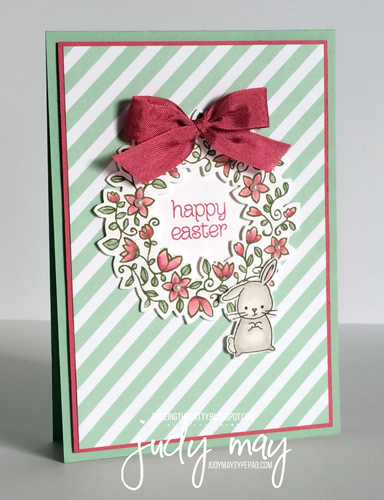 Stampin' Up! Circle of Spring and Made with Love for Easter 2016 - Judy May, Just Judy Designs