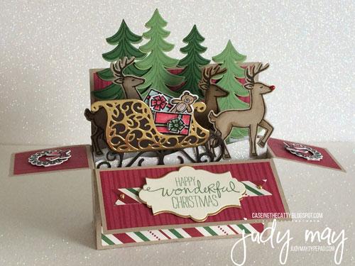 Stampin' Up! Santa's Sleigh Bundle & This Christmas DSP