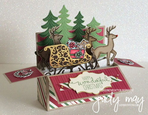 Stampin' Up! Santa's Sleigh Bundle & This Christmas DSP