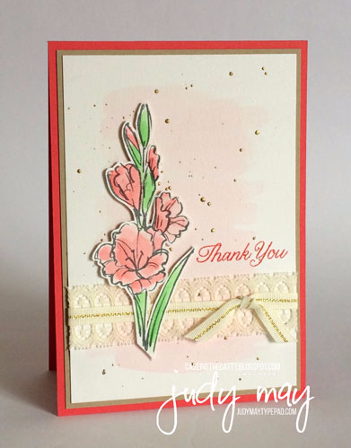 Stampin' Up! Gift of Love for CTC106 - Judy May, Just Judy Designs