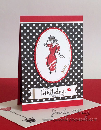 Stampin' Up! Beautiful You Birthday - Judy May, Just Judy Designs