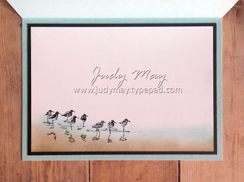 Stampin' Up! Wetlands - Judy May, Just Judy Designs