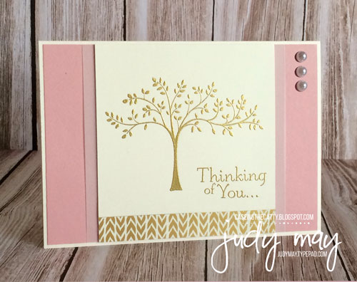 Stampin' Up! Thoughts & Prayers for CASE-ing the Catty - Judy May, Just Judy Designs