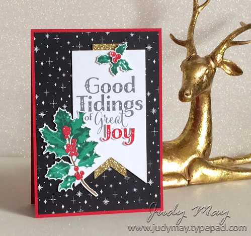 Stampin' Up! Good Tidings - Judy May, Just Judy Designs