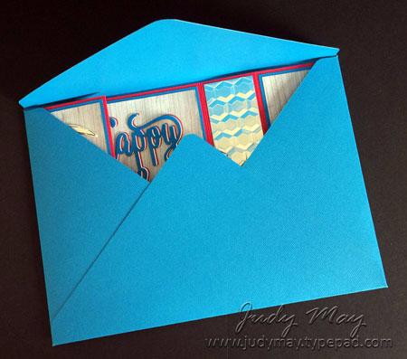 Stampin' Up! Nailed It Bridge Fold Card - Judy May, Just Judy Designs