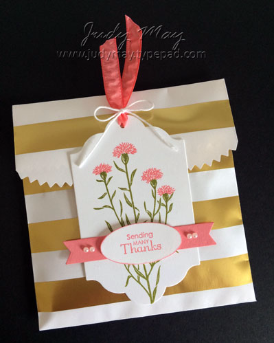 Stampin' Up! Wild About Flowers Gift Packaging - Judy May, Just Judy Designs