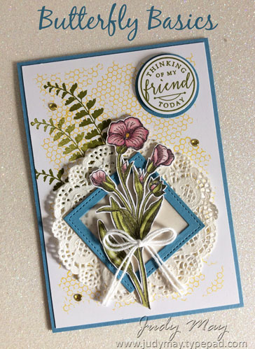 Stampin' Up! Butterfly Basics - Judy May, Just Judy Designs