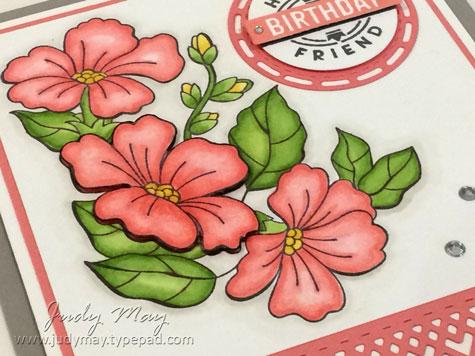 Stampin' Up! Blended Seasons - Judy May, Just Judy Designs