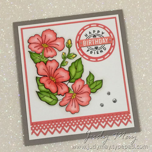 Stampin' Up! Blended Seasons - Judy May, Just Judy Designs