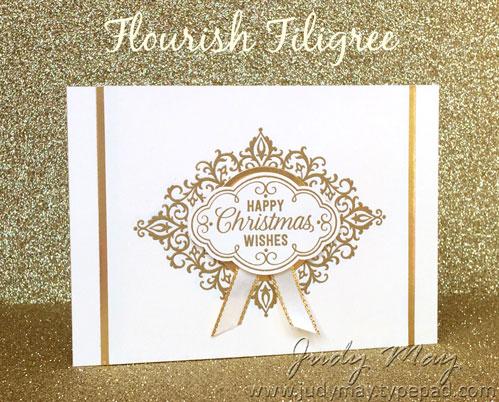 Stampin' Up! Flourish Filigree - Judy May, Just Judy Designs