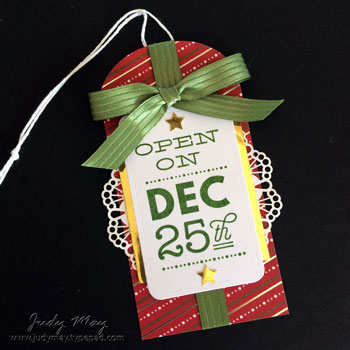 Stampin' Up! Sincerely Santa Project Kit - Judy May, Just Judy Designs