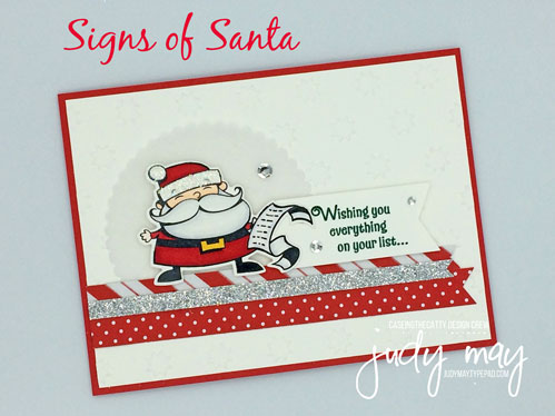 Stampin' Up! Signs of Santa Bundle