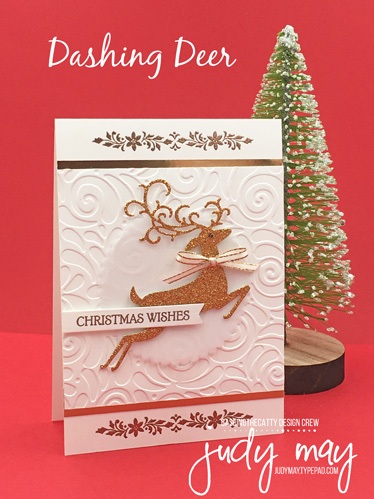 Stampin' Up! Dashing Deer - Judy May, Just Judy Designs Melbourne